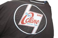 **NEW** Ed Baxter Mens Big Size Black Hi Octane Designer T Shirt 3XL 4XL 5XL 6XL