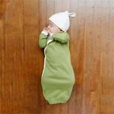 Newborn Baby Swaddle Infant Sleeping Bag Warm Knited Blanket Stroller Wrap QL