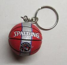 NBA Basketball Toronto RAPTORS Spalding Ball KEY CHAIN Ring Keychain NEW