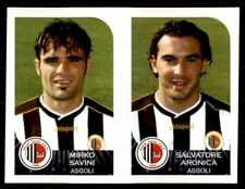 Panini Calciatori 2002-2003 - Ascoli Mirko Savini / Salvatore Aronica No. 461