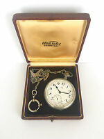 Very rare OMEGA Railway Minimalized Minute cal.19'''/42.7 Pocket Swiss Watch