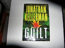 Guilt: An Alex Delaware Novel by Jonathan Kellerman (2013) SIGNED 1st/1st