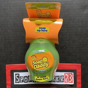 Scrub Daddy Soap Dual Action Soap Dispenser Tik Tok FAST SHIP NEW - IN HAND 🧴🔥