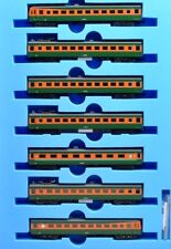 Microace A3983 JNR Series 80 EMU set (7), Shonan color, n scale, ships from USA