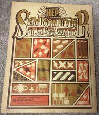 Motorola Hep Semiconductor Short form Catalog 1977 Edition softback