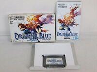 ORIENTAL BLUE Gameboy Advance Nintendo bcb gba
