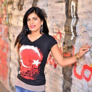 AUSVERKAUF Zoonamo TÜRKEI Damen Classic Shirt  Girls Türkiye Länder T-Shirt