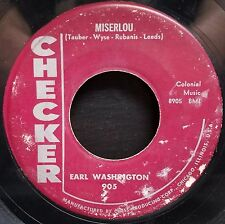 Earl Washington | R&B Popcorn  45 | Miserlou / Wolf Call | Checker 905