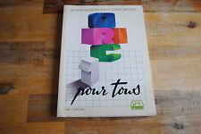 Livre, manuel ORIC 1 POUR TOUS version FR (Atmos)