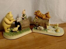 Disney Michael & Co-Classic Winnie The Pooh Bookends-Tigger Piglet Pooh Ducks