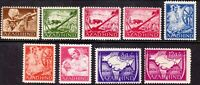Stamp Germany India Selection 1943 WWII  War Era Azad Hind Legion Free MNH