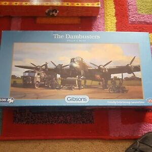 Gibsons The Dambusters Jigsaw Puzzle. Used. 636 Pieces