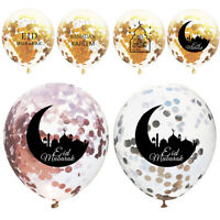 Eid Mubarak Moon Cake Balloons Ramadan Muslim Inflatable Toys Party Event Decor