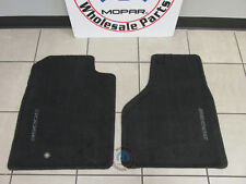 DODGE RAM Slate Gray Production Style Front Floor Mats NEW OEM MOPAR