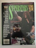 WWF Presents Magazine 1993 SUPERSTARS VIII UNDERTAKER LIMITED EDITION WWE