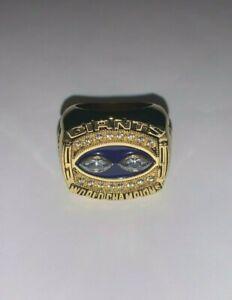 1990 New York Giants Championship Replica Super Bowl Ring Size 11