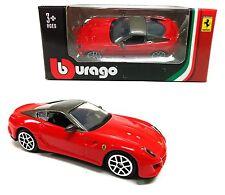 Bburago 1:64 Ferrari 599 GTO Race & Play Assortment Diecast Car Model