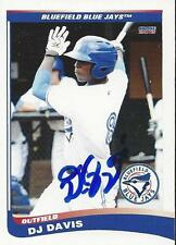 DJ Davis 2013 Toronto Blue Jays Signed Card
