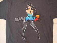 Mafia Wars 2 Being Bad Never Felt So Good Mobile Game Soft Dark Gray T Shirt XL