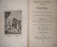1809 PRIESTCRAFT DEFENDED SERMON ON OXFORD UNIVERSITY EXPULSION BY JOHN MACGOWAN