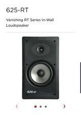 New! Polk Audio 625-RT In-wall Speaker - Vanishing series