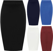 Formal Solid Maxi Skirts for Women