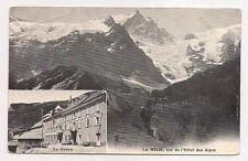 la meije ,vue de l'hôtel des alpes , la grave