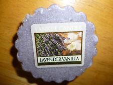 Yankee Candle Set of 3 Lavender Vanilla Tarts Wax Melts FREE Ship NEW