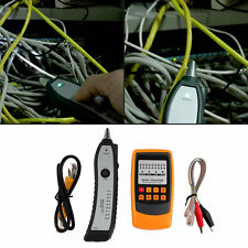 Cable Tester Tracker Phone Line Network Finder RJ11 RJ45 Wire Tracer OE