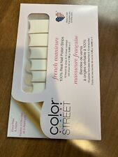 NEW &SEALED Color Street Nail Polish French Manicure Strips ~City of Love~