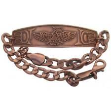 Solid Copper Bracelet Thunderbird Handmade Northwest Jewelry Arthritis Relief