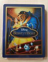 Beauty & the Beast Blu-Ray Zavvi Steelbook 2D 3D ++ geprägte Erstedition ++