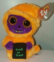 Ty Beanie Boos - SKELTON the Halloween Ghoul (6 Inch) NEW - MINT with MINT TAGS