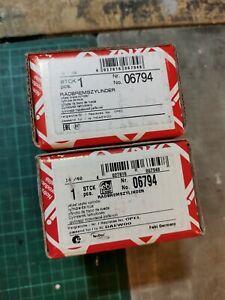 1 Pair Febi Bilstein 06794 - Wheel Cylinders For Vauxhall/Daewoo