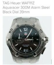 Tag Heuer Aquaracer Watch WAF111Z quarzo, acciaio, scatola originale, la ricezione & CARD