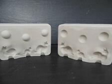 Gipsform Gießform für  Keramik   3 kl. Schnecken 2-4 cm K - 9