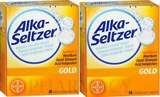 ALKA-SELTZER GOLD for Heartburn, Stomach Upset 36ct Drop Ins ( 2 pack )