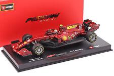 C. Leclerc Ferrari SF1000 #16 1000th GP Ferrari Toskana GP F1 2020 1:43 Bburago