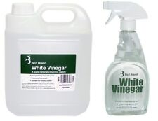 Bird Brand White Vinegar Cleaning Glass Cleaner 500ml Spray With 1x 4Ltr Refills