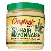 Africa's Best Organics Hair Mayonnaise 15 oz (Pack of 2)