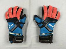 Puma - Men'sBlue/Orange Goalie Gloves Gloves (Size 11) - Used
