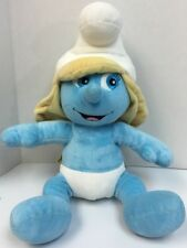 Build A Bear Plush Smurfette Smurf The Smurfs Movie 2011 With Pink Outfit 18""