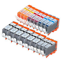 18 PK INK NON-OEM CANON PGI-220 CLI-221 IP3600 IP4600 IP4700 MP980 MX860 MP990