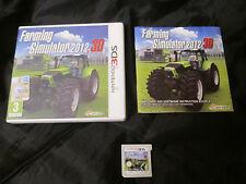 3DS : FARMING SIMULATOR 2012 3D - Completo ! Compatibile 2DS e New 3DS XL