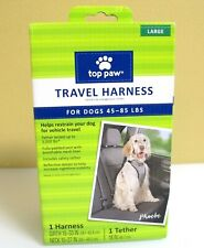 TOP PAW Travel Harness For Dogs Large/ 45-85 LBS