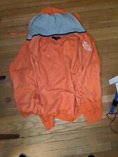 "US Polo Assn. Zipper Orange ""Kenny"" Hoodie - Size XL"