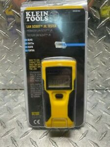 Klein Tools LAN Scout Jr. 2 Ethernet Cable Tester for CAT 5e CAT 6/6A Cables