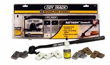 HO/N/O Woodland Scenics TT4550 Tidy Track Rail Tracker Cleaning Kit