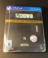 MLB The Show 18 [ MVP Edition / STEELBOOK Package ]  (PS4) NEW