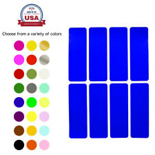 Color Coding Labels 3x1 Inch Rectangular 76mm x 25mm Stickers for Marking Crafts